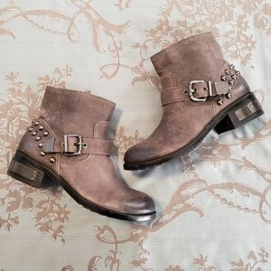 Vince Camuto Windetta Studded Moto Boots